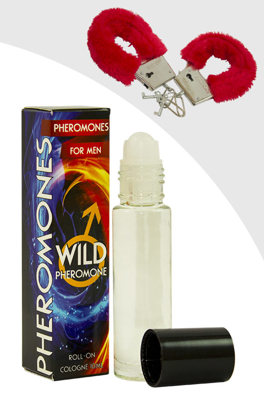 Luxusní parfém s feromony pro muže – WILD PHEROMONE MAN + pouta ()