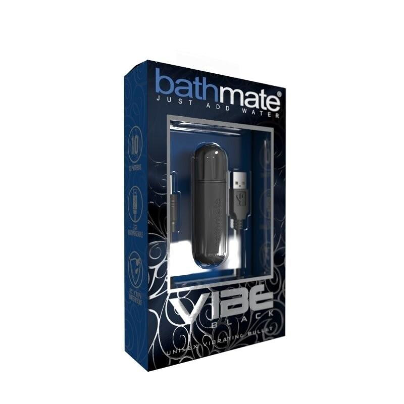 Vibrační vajíčko BATHMATE černé