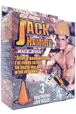 Nafukovací panák - Jack Hammer
