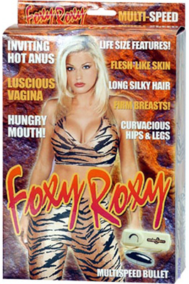 Nafukovací panna - Foxy Roxy