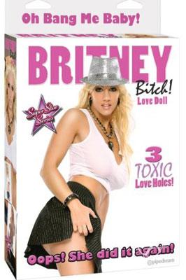 Nafukovací panna - Britney Bitch