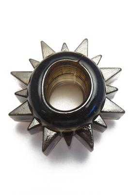 Strečový kroužek černý