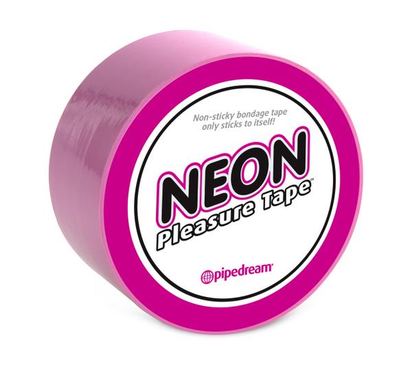 Páska BONDÁŽOVACÍ NEON PINK