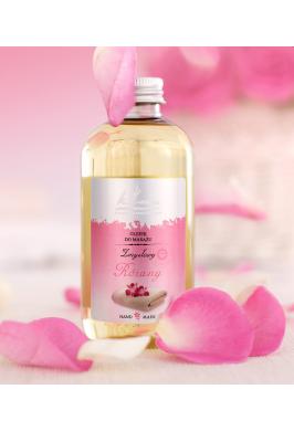 Luxusní masážní olej Růže - 200ml