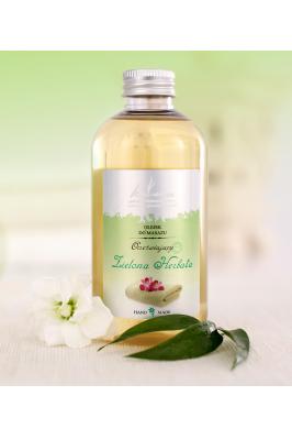 Luxusní masážní olej Zelený čaj - 200ml